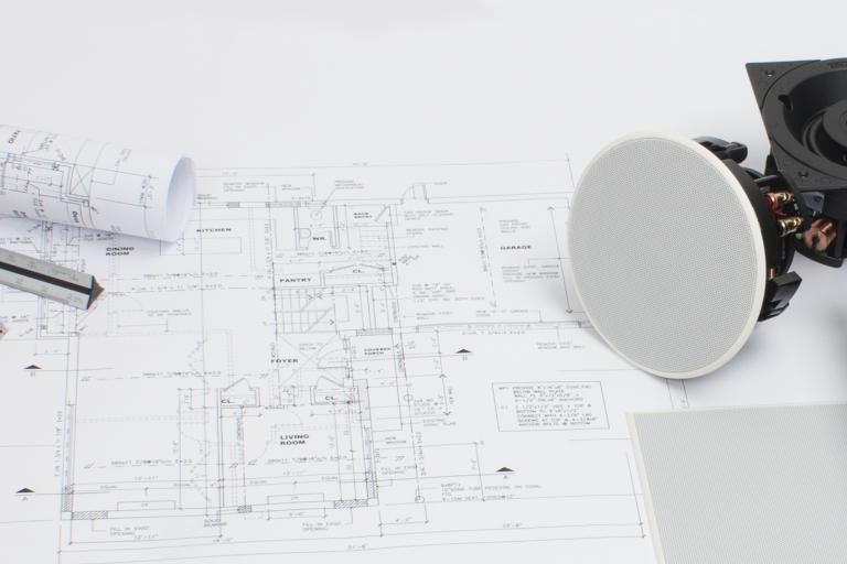 Multiroom-Audio Planung eines Hauses (Bildmaterial: ©Sonance)