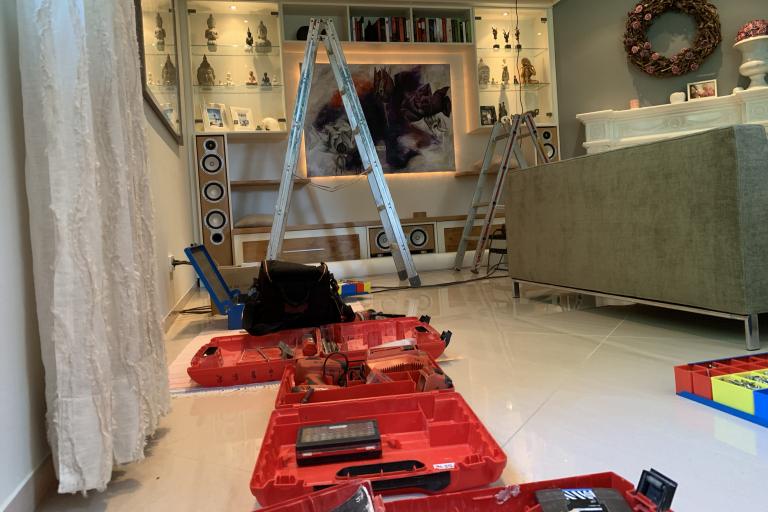 Unsere Leistung: Installation