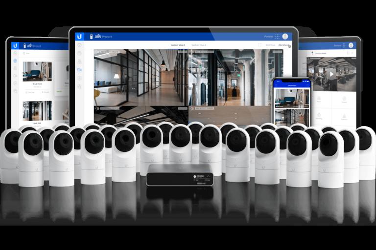 Videoüberwachung Übersicht durch Ubiquiti UniFi Protect Netzwerkkomponenten (Bildmaterial: ©Ubiquiti)